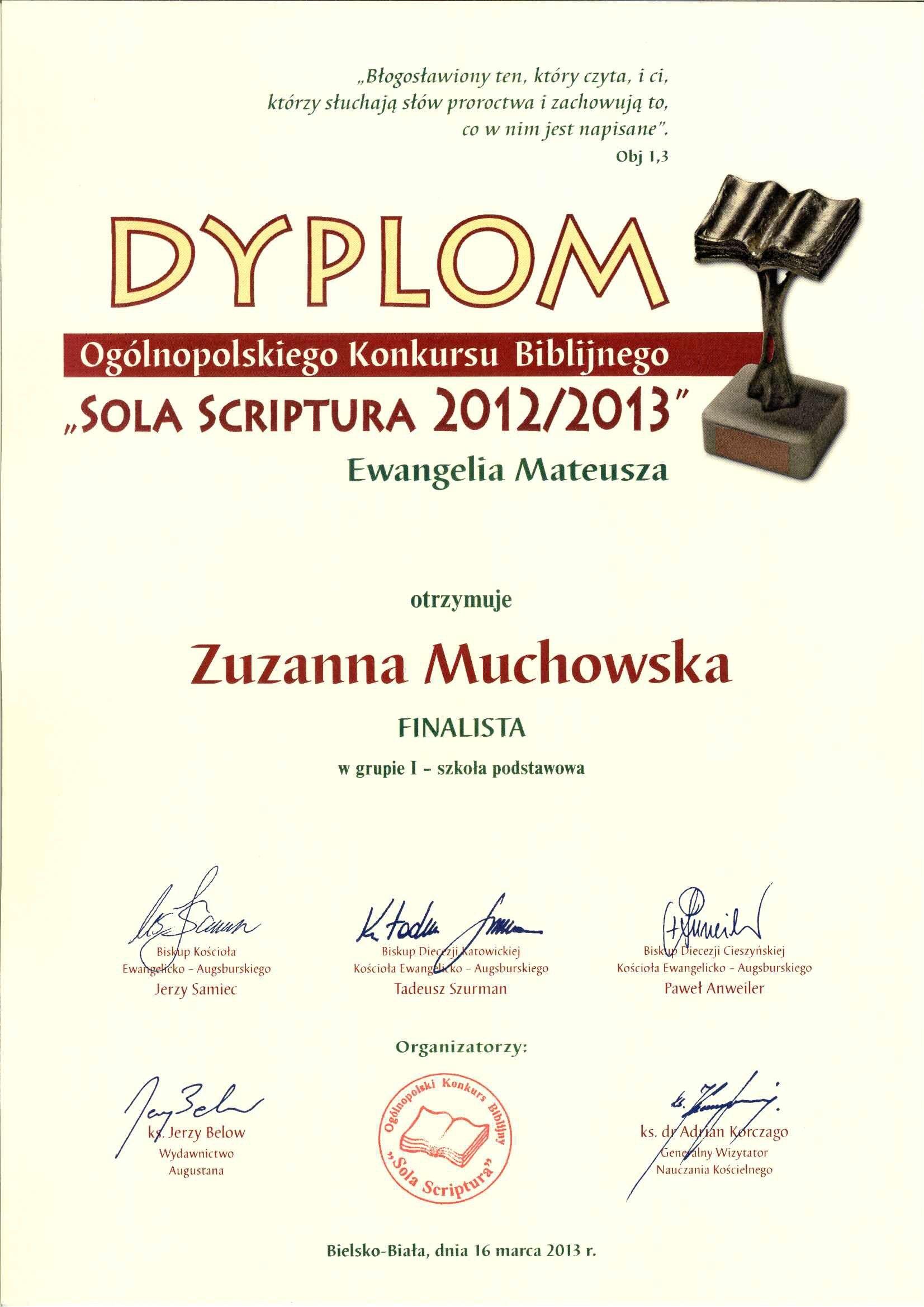 Dyplom-Zuzi