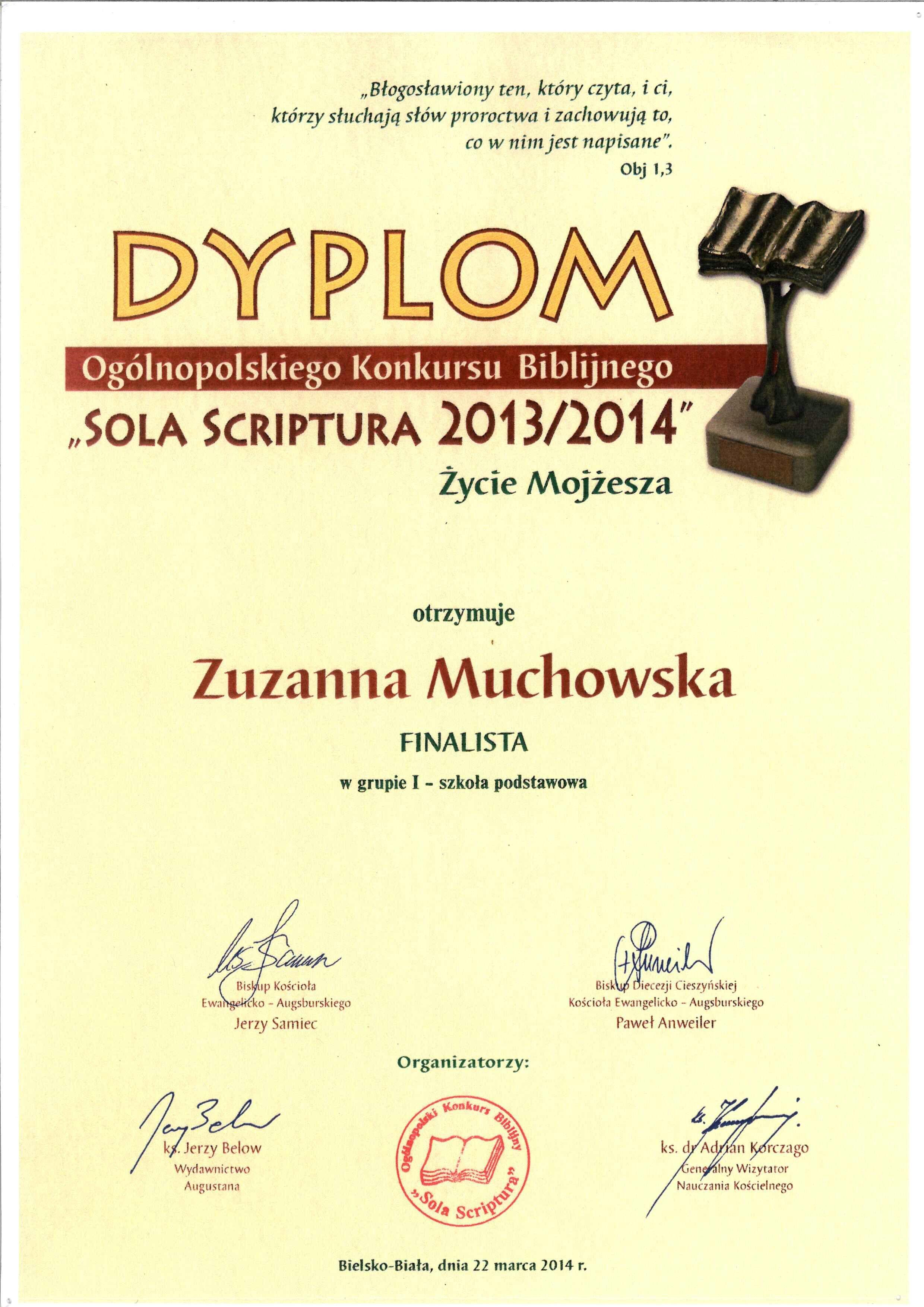 Dyplom-Zuzanny