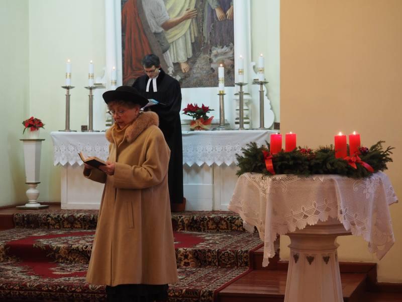 Wigilijne nabożeństwo - 2016